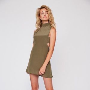 Stone cold fox green dress size 2 worn once